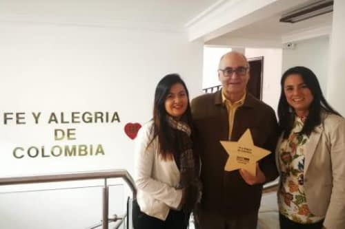Fe y Alegría Colombia recognized with the Best Workplace award 2018