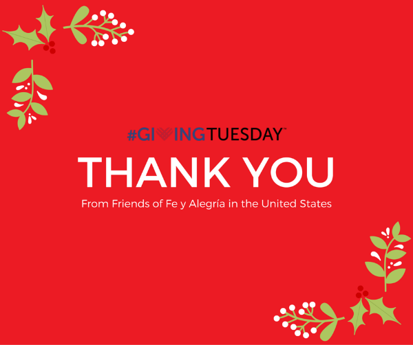 Challenge is just a word: #GivingTuesday has been a success!